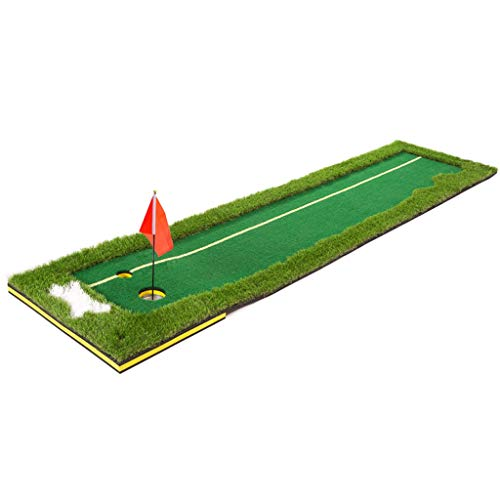 Best Review Of ZTJQD Indoor and Outdoor Golf Putting Practice, Practice Blanket Size: 0.75/0.5×3m (...