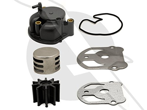 emp OMC Cobra Water Pump Impeller Kit with Housing Replaces 984461 983895 984744