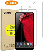 [3-Pack] Essential Phone PH-1 Screen Protector, HD Tempered Glass Protective Film, High Definition (Stealth) Transparent for 5.7 Inch Essential PH-1