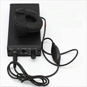 Kstpower Telephone Voice Changer Professional Disguiser Phone Transformer Spy Bug Change