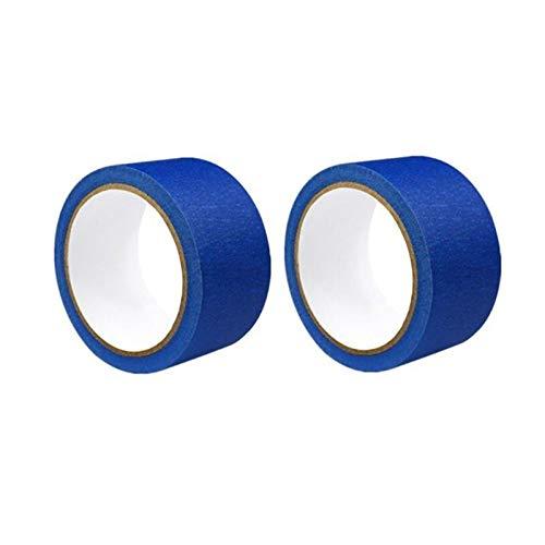 L-Yune,bolt 3D Cama Calefacción Impresora Azul de Alta Temperatura de la Cinta de poliimida Cinta Adhesiva Azul Anchura 50 mm Longitud 30 m for I3 por Anet A8 A6 (Color : Blue, tamaño : 2roll)