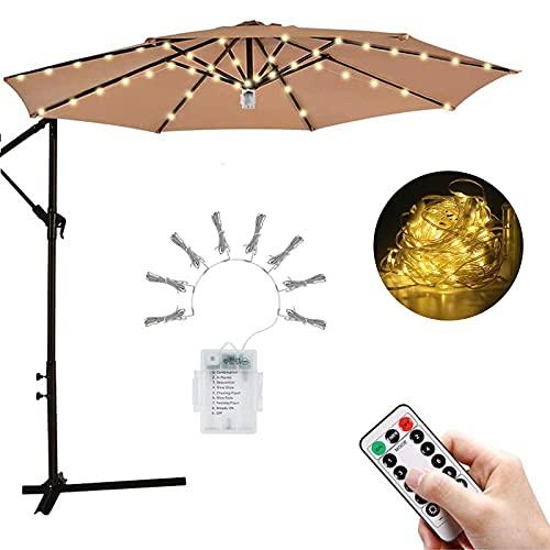 ombrellone da giardino con luci Luce per Ombrellone da Giardino con Telecomando e Timer