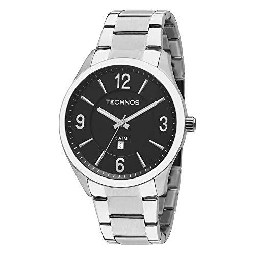 Relógio Technos Masculino Steel Prata - 2015BZB/1P