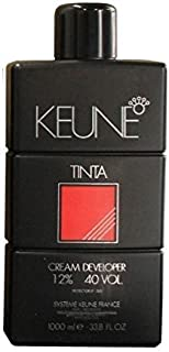 Keune Tinta Cream Developer 12% / 40 VOL. 33.8 fl. oz (1 Liter)