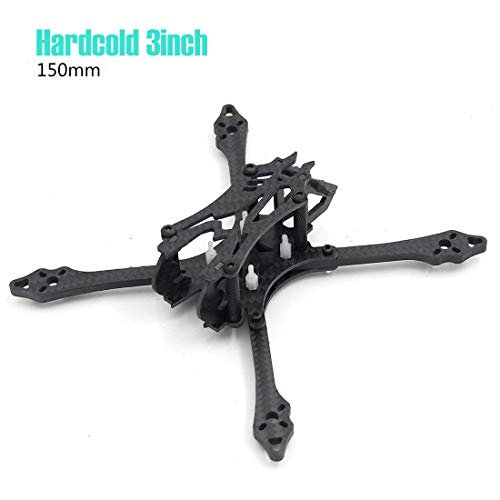 Hardcold 3inch 150mm with 4mm Thickness Arm 40g Frame Kit Quadcopter Drone kit