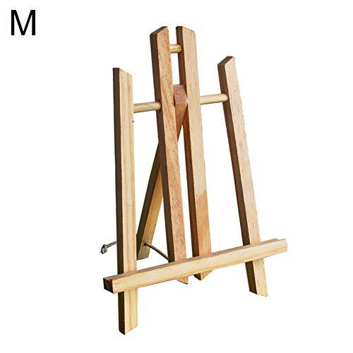 dljztrade Houten Kunstenaar Easel Opvouwbare Schilderij Craft Tekenen Kunst Decoratie Stand Reclame Tentoonstelling Display Plankhouder M