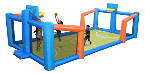Sportspower Fly Slama Jama Inflatable Basketball Court