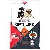 Global Pienso para Perros OPTI Life Adult Digestion Mini con Cordero y arroz | Pienso para Perros Mini Versele Laga | Comida para Perros 7,5 kgs