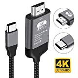 Kdely USB C auf HDMI Kabel 4K USB 3.0 Kompatibel...