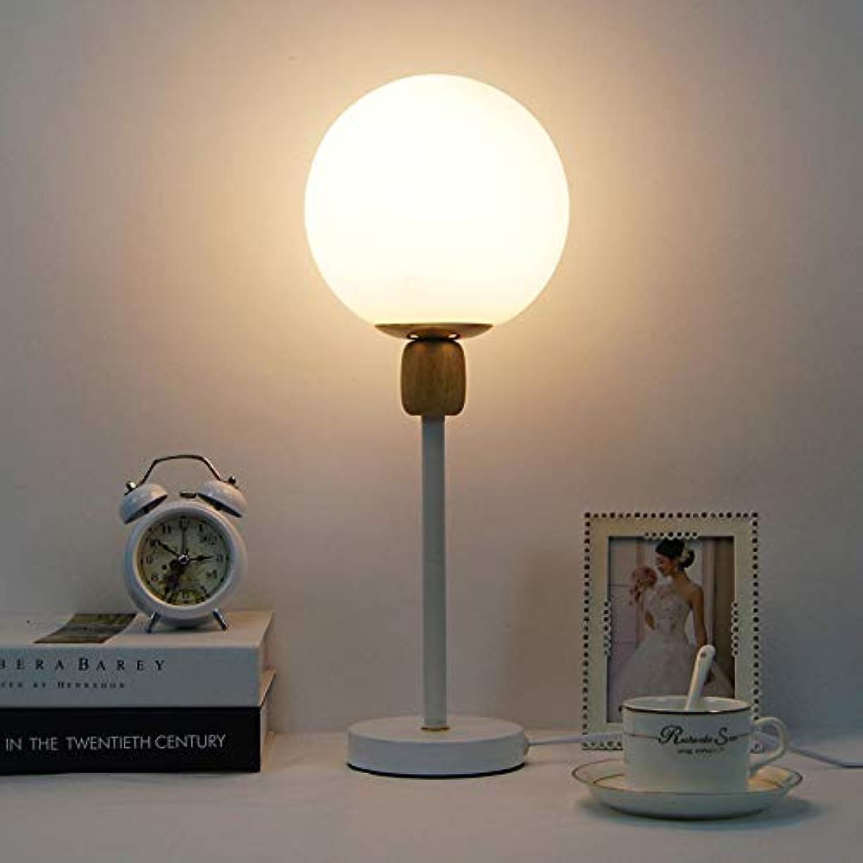 Dkdnjsk Einfache Schlafzimmer Nachttischlampen Arbeitszimmer Leselampe Schreibtischlampe Büro Computer Tischlampe E27 Schraube LED Glühlampe Schreibtischlampe Wohnzimmer Esszimmer Innendekoration Schr
