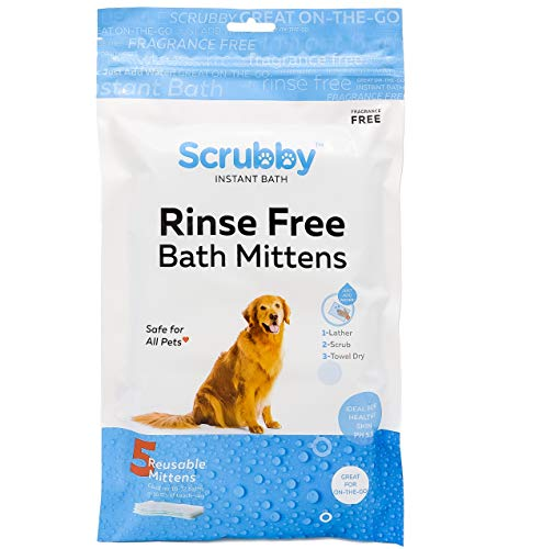 No Rinse Pet Wipes- for Pet Bathing, Pet Grooming, and Pet Washing, Simple to Use ,Just Lather, Wipe, Dry. Excellent for Sensitive Skin. The Ideal Pet Wipes For Bathing Your Pet Dog and Cat (10-Pack)