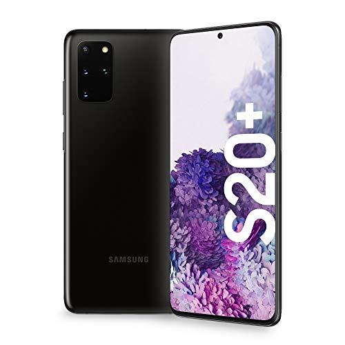 "Samsung Galaxy S20+ Smartphone, 4G, Display 6.7"" Dynamic AMOLED 2X, 4 Fotocamere Posteriori, 128 GB Espandibili, RAM 8 GB, Batteria 4500 mAh, Hybrid SIM/eSIM, Nero"