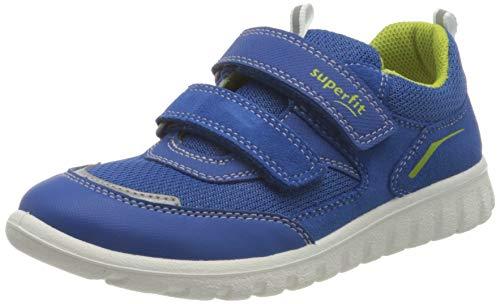 Superfit SPORT7 Mini Gore-TexSneaker Lauflernschuh, BLAU/GRÜN, 31 EU