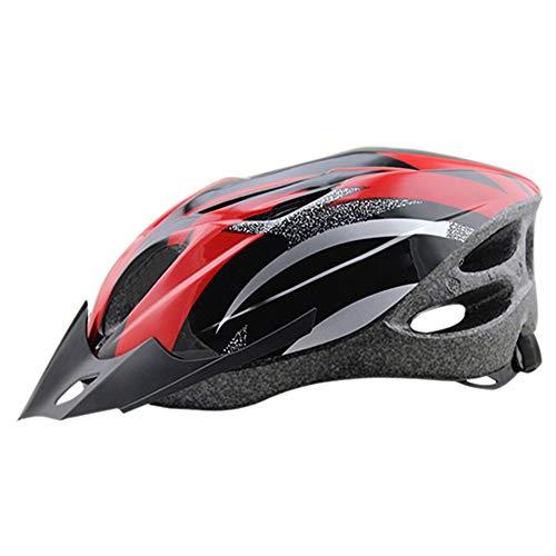 Fahrradhelm Yuan Ou Super Light Road Protector Atmungsaktiv Radfahren Outdoor Frauen Männer 56-62 cm rot 2