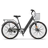 Bicicleta Eléctrica Portátil Para Mujer 26 Pulgadas Bicicleta Eléctrica Asistida Inteligente 2 Ruedas Bicicletas Eléctricas Para Adultos 250W 36V 6Ah / 10Ah/ 13Ah Bicicleta Eléctrica