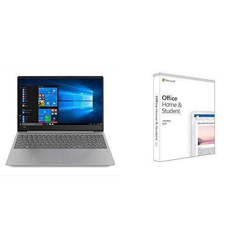 Lenovo ideapad 330S-15IKB Notebook, Display 15.6 HD TN AG, Processore Intel I5-8250U, RAM 8 GB, Storage 256 GB SSD, Grafica Condivisa, Windows 10, Grigio, 81F500NCIX