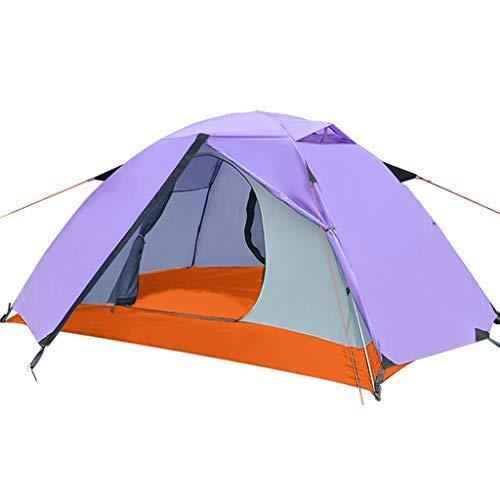 KEKEYANG Tent, Tienda al Aire Libre, Camping y Viento excursión Doble Doble Tienda de campaña de Aluminio/Interior Grande diseño de Espacio, 200 × 140 × 100 cm Cámping, (Color : B)