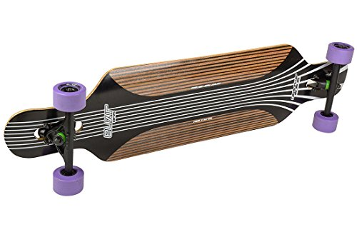 Elixir Atlas Carbonizer Drop Through Komplett Longboard 2015 - Purple