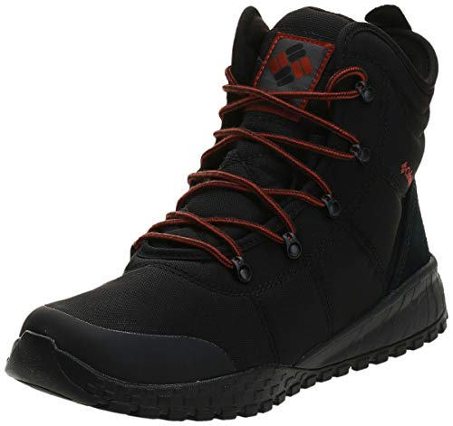 Columbia Herren Fairbanks Omni-Heat Winterstiefel, Schwarz (Black), 43 EU