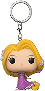 Funko Pop Keychain: Tangled - Rapunzel (Heart Strong/Dancing) Collectible Keychain