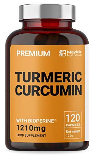 Curcuma con Bioperine di Mayfair Nutrition | Capsule...