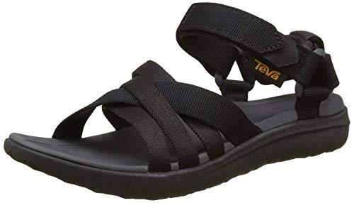 Teva Women's W Sanborn Sandal, Black, 9 M US