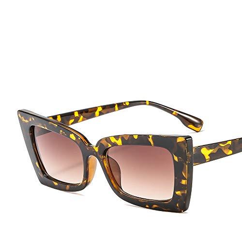 Ou lida Damen Sonnenbrillen Rahmen Cat Eye Sonnenbrillen Sonnenbrillen Leopard Rahmen Tee