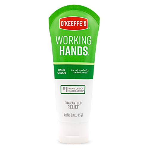 O'Keeffe's K0290004 Working Hands Hand Cream, 3 ounce Tube, Multicolor