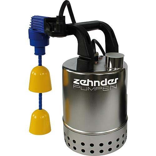 Zehnder Pumpen–12811Edelstahl Kühlblech Tauchpumpe Schmutzwasserpumpe Hochwasser Flut 50KS