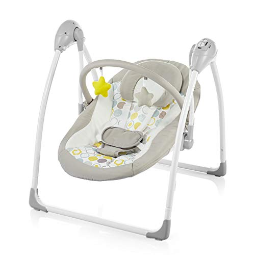 Review Of Foldable Baby Rockers and Bouncers, Automatic Infant Swing with Natural Vocal, Remote Cont...