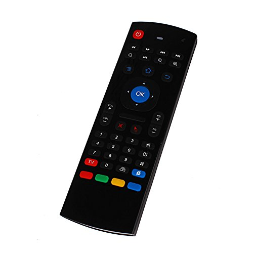 B-black® Telecomando per Smart TV BOX Multifunzione...