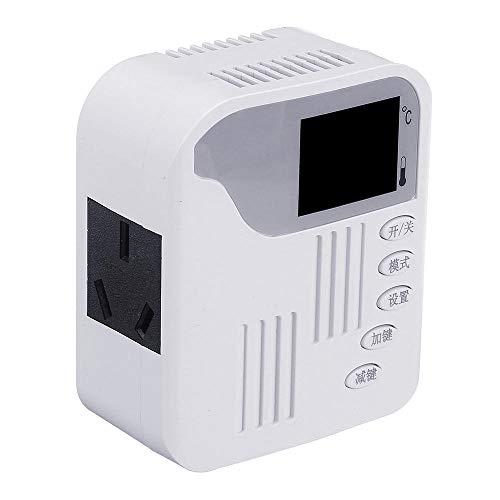 Modulo electronico 2000W AC 220V cristal de carbono Plate termostato Socket Temperatura de control remoto interruptor de control de radiador Controlador de temperatura