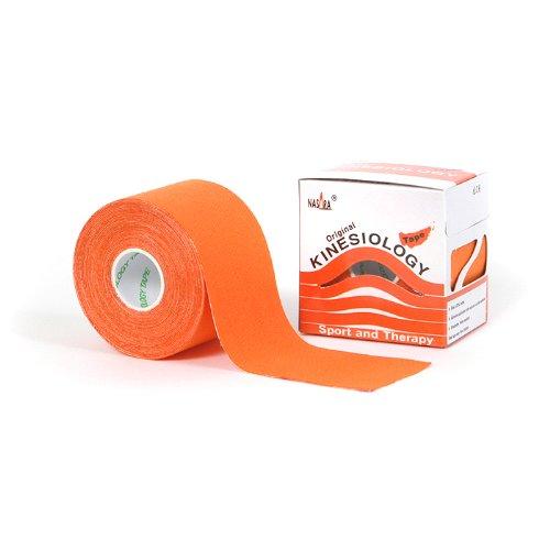 Nasara Kinesiologie Tape Original (5 cm x 5 m), Orange