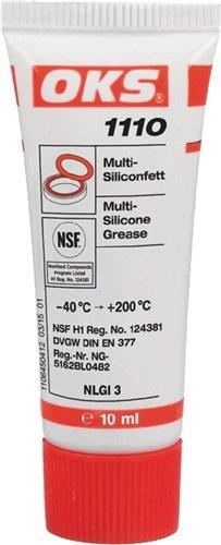 OKS Multi-Silikonfett OKS 1110 10ml NSF-H1, DVGW, NLGI-Klasse 3