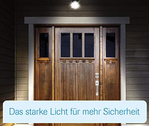 MediaShop Panta Safe Light 2er Set – LED Strahler für innen und außen – Außenleuchten mit Bewegungsmelder und Tageslichtsensor – wetterfeste LED Außenbeleuchtung – 2 Stk. - 5