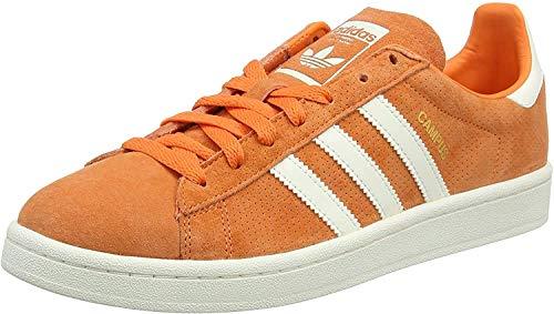 adidas Campus, Sneaker Uomo, Rosso (Trace Orange S18/Off White/Chalkwhite), 44 2/3 EU