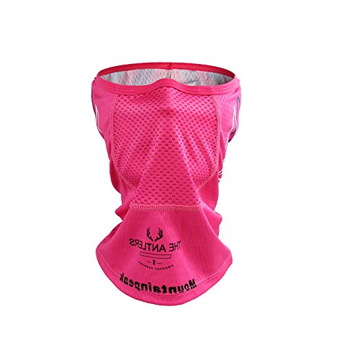 Face Shield Protection Best Men, 2PC Balaclava Breathable Bike Cycling Pink Sky for Men's Women's Adults' Road Bike Outdoor Exercise,Pink