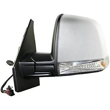 Specchietto Retrovisore Specchio Sinistro SX Meccanico a Cavi Nero Lato Guida Modello CARGO