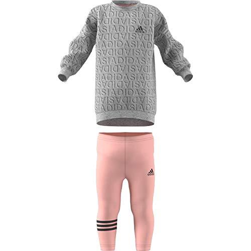 Adidas Unisex Baby Sweat Dress Set trainingspak