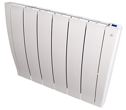 Haverland IRIS6 - Emisor térmico Fluido, Autoprogramable, Autoaprendizaje, Sensor Presencia, Ideal Uso +6h/día, estancias de +/- 11-15 m², 1000W