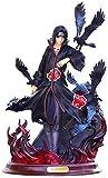 Hyzb Naruto Shippuden Figura de acción Modelo Anime Naruto Uzumaki Uchiha Itachi Akatsuki 23cm Estatua de PVC Juguetes de muñecas coleccionables (Color: 3 sin Caja)-3 No Box