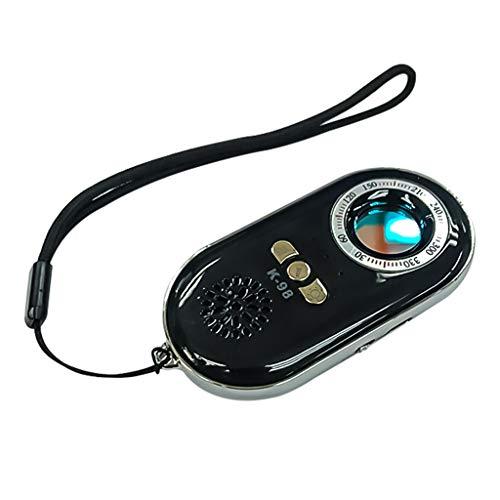 JHD K98 Rilevatore di telecamere nascoste Rilevatore di Insetti Rilevatore di segnali Wireless Rilevatore di Scanner con allarmi sonori e Luminosi per Ragazze da casa da Viaggio