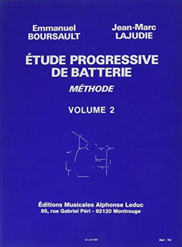 Etude Progressive de Batterie - Volume 2