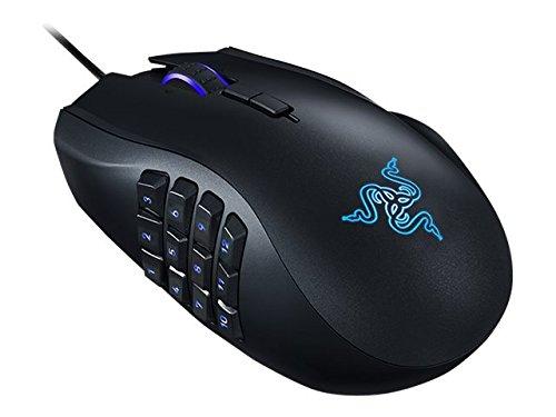 Razer RZ01-01610100-R3U1 Naga Chroma - Ergonomic RGB MMO Gaming Mouse- 12 Programmable Thumb Buttons & 16,000 Adjustible DPI