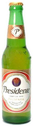 Cerveza Presidente Bier aus der Dominikanischen Republik 12 x 330 ml