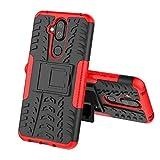 JiuRui-504 kuaijiexiaopu Étuis pour Nokia 4.2 3.2, Coque Silicone Hard Silicone Hard PC pour Nokia...
