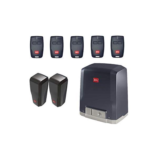 BFT-DEIMOS-KIT-DEIMOS-AC-A600-motor-con-unidad-de-control-integrada-5-X-RCB02-transmisores-DESME-A15-par-de-fotoclulas-para-el-accionamiento-de-puertas-correderas-de-hasta-600-kg