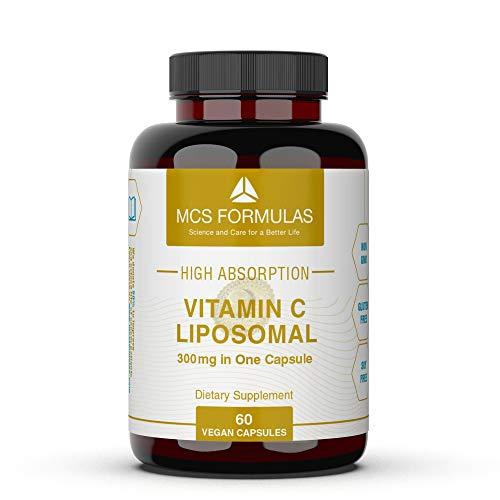 Vitamin C Liposomal in Capsules (NO Taste & Pure), 60 Capsules, NO ADDITIVES