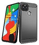 Aliruke Case for Google Pixel 4A 5G Case(NOT for Pixel 4A 4G Version), Slim Shockproof TPU Bumper Cover Flexible Lightweight Protective Phone Cases for Google Pixel 4A 5G 2020, Black