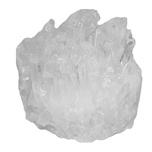 Bergkristall schöne kleine Stufe naturgewachsen und natur belassen aus Brasilien ca. 7 - 10 cm